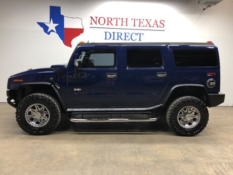 2007 HUMMER H2 H2 4x4 Luxury Pkg Chrome Wheels Leather 3rd Seat sunroof Mansfield TX