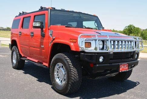 2007_HUMMER_H2_Victory Red Limited Edition 4x4_ Fort Worth TX