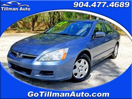 2007_Honda_Accord_LX Sedan AT_ Jacksonville FL