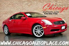 2007_INFINITI_G35 Coupe_- 3.5L V6 ENGINE REAR WHEEL DRIVE NAVIGATION SUNROOF BLACK LEATHER HEATED SEATS BOSE AUDIO XENONS_ Bensenville IL