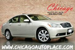 2007_INFINITI_M35_x - AWD 1 OWNER 3.5L V6 ENGINE BEIGE LEATHER HEATED/COOLED SEATS NAVIGATION BACKUP CAMERA BOSE AUDIO SUNROOF REAR TV'S_ Bensenville IL