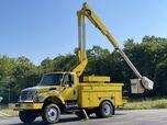 2007 International 7400 4x4 50' Bucket Truck