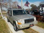 2007 JEEP COMMANDER LIMITED 4X4, WARRANTY, LEATHER, SUNROOF, REMOTE START, HEATED SEATS, BOSTON SOUND, 3RD ROW, A/C!!!!!