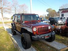 2007_JEEP_WRANGLER_UNLIMITED RUBICON 4X4, WARRANTY, MANUAL, TOW PKG, SIRIUS RADIO, RUNNING BOARDS, FOG LAMPS,FOG LAMPS!_ Norfolk VA