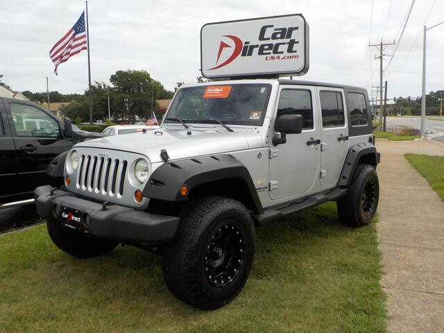 2007 JEEP WRANGLER UNLIMITED SAHARA 4X4, CERTIFIED W/WARRANT, PREMIUM XD  WHEELS, ...