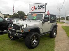 2007_JEEP_WRANGLER_X 4X4, BUY BACK GUARANTEE & WARRANTY, LIFTED, HARD TOP, RUNNING BOARDS, UCONNECT, ONLY 62K MILES!_ Virginia Beach VA