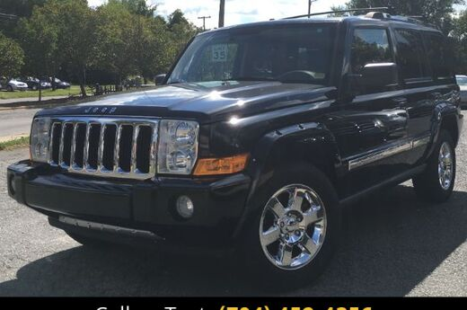 2007 Jeep Commander Limited 2WD Charlotte and Monroe NC