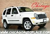 2007 Jeep Liberty Limited - 1 OWNER 3.7L V6 - 4 WHEEL DRIVE BEIGE LEATHER SUNROOF BLUETOOTH ALLOY WHEELS