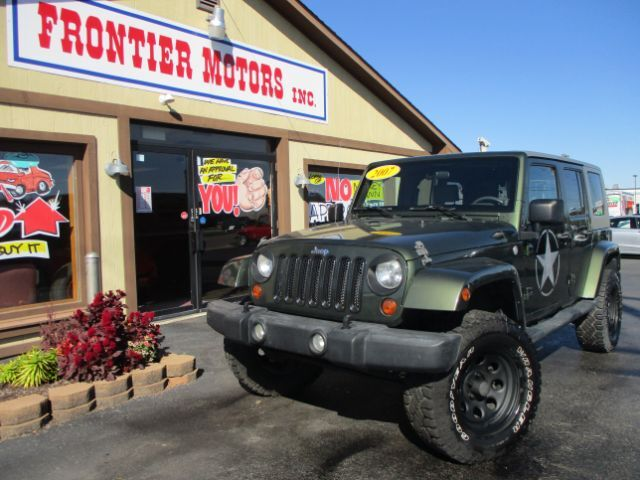 2007 Jeep Wrangler Unlimited Sahara 4wd Middletown Oh 26700982