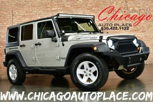 2007 Jeep Wrangler Unlimited X - 3.8L SMPI V6 ENGINE 4 WHEEL DRIVE 6 SPEED MANUAL 2-TONE CLOTH INTERIOR LED LIGHTS TRAIL RATED Bensenville IL