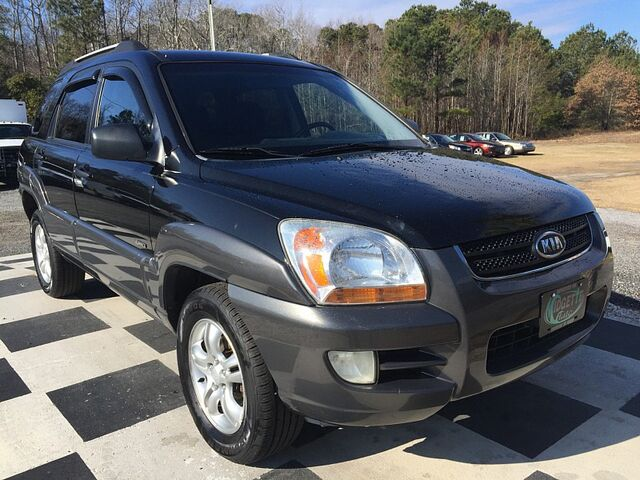 2007 Kia Sportage 4d SUV 4WD EX Outer Banks NC