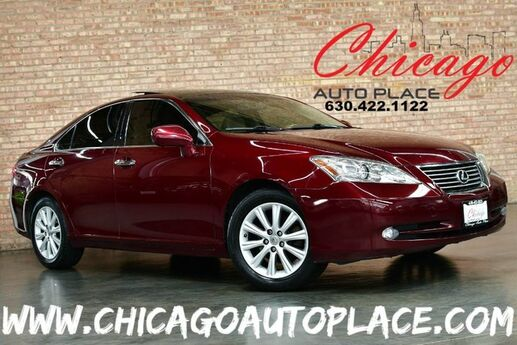 2007 Lexus ES 350 3.5L V6 ENGINE FRONT WHEEL DRIVE PANO ROOF NAVIGATION BACKUP CAMERA BEIGE LEATHER HEATED/COOLED SEATS KEYLESS GO WOOD GRAIN INTERIOR TRIM Bensenville IL