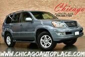 2007 Lexus GX 470 4.7L V8 ENGINE 4WD 1 OWNER NAVIGATION BACKUP CAMERA GRAY LEATHER HEATED SEATS SUNROOF 3RD ROW WOOD GRAIN INTERIOR TRIM