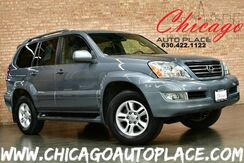 2007_Lexus_GX 470_4.7L V8 ENGINE 4WD 1 OWNER NAVIGATION BACKUP CAMERA GRAY LEATHER HEATED SEATS SUNROOF 3RD ROW WOOD GRAIN INTERIOR TRIM_ Bensenville IL