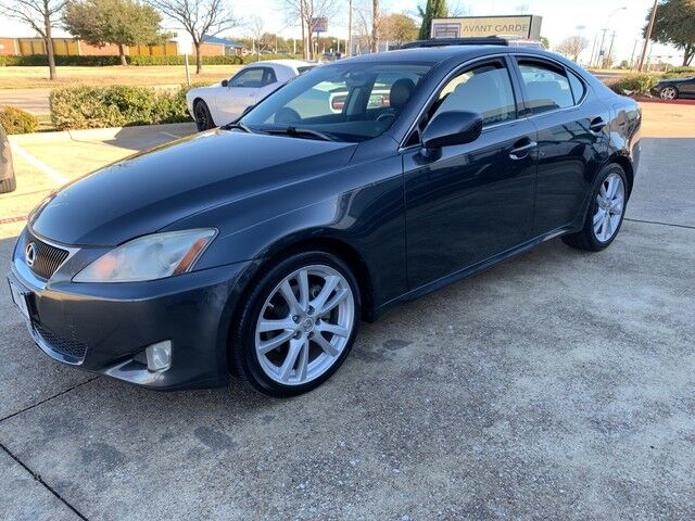 2007 Lexus IS250 NAVIAGTION REAR VIEW CAMERA, PREMIUM SOUND SYSTEM, HEATED LEATHER, SUNROOF!!! EXTRA CLEAN!!! ONE LOCAL OWNER!!! Plano TX