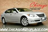 2007 Lexus LS 460 LWB - 4.6L V8 ENGINE REAR WHEEL DRIVE NAVIGATION BACKUP CAMERA GRAY LEATHER HEATED/COOLED SEATS KEYLESS GO XENONS POWER CLOSING TRUNK