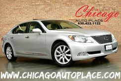 2007_Lexus_LS 460_LWB - 4.6L V8 ENGINE REAR WHEEL DRIVE NAVIGATION BACKUP CAMERA GRAY LEATHER HEATED/COOLED SEATS KEYLESS GO XENONS POWER CLOSING TRUNK_ Bensenville IL