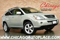 2007_Lexus_RX 400h_3.3L HYBRID SYNERGY DRIVE V6 ENGINE ALL WHEEL DRIVE 1 OWNER NAVIGATION BACKUP CAMERA TAN LEATHER HEATED SEATS SUNROOF WOOD GRAIN INTERIOR TRIM POWER LIFTGATE_ Bensenville IL