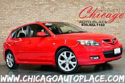 2007_Mazda_Mazda3_s Touring - 1 OWNER 2.3L I4 ENGINE BLACK CLOTH SPORT SEATS SUNROOF PREMIUM WHEELS_ Bensenville IL