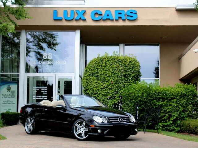 2007_Mercedes-Benz_CLK63_AMG Convertible Nav MSRP $97,685_ Buffalo Grove IL