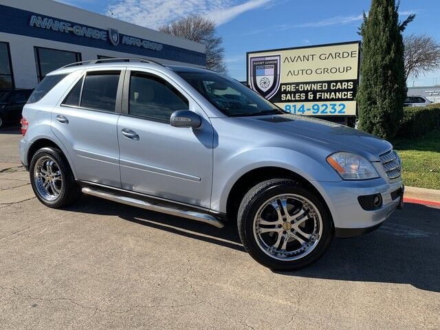 2007 Mercedes-Benz ML350 4MATIC LEATHER, SUNROOF, UPGRADED RIMS, RUNNING BOARDS!!! VERY CLEAN!!! GREAT VALUE!!! Plano TX