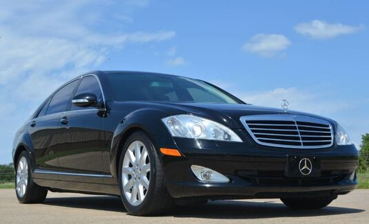 2007_Mercedes-Benz_S-Class_S550 Premium 2 Sedan_ Fort Worth TX