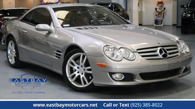 2007_Mercedes-Benz_SL-Class_5.5L V8 50th Anniversary Edition_ San Ramon CA