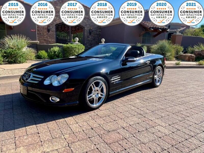 2007_Mercedes-Benz_SL-Class_5.5L V8_ Glendale Heights IL