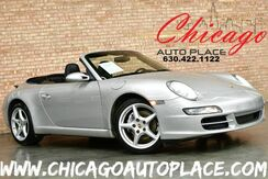 2007_Porsche_911_Carrera Cabriolet - 3.6L HIGH OUTPUT FLAT 6-CYL ENGINE REAR WHEEL DRIVE NAVIGATION PSM BLACK LEATHER SPORT SEATS BOSE AUDIO XENONS CARRERA III ALUMINUM ALLOY WHEELS_ Bensenville IL
