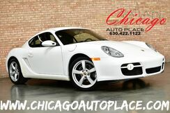 2007_Porsche_Cayman_Coupe - 2.7L HO 6-CYL ENGINE REAR WHEEL DRIVE BLACK LEATHER SPORT SEATS HEATED SEATS PSM PREMIUM ALLOY WHEELS_ Bensenville IL