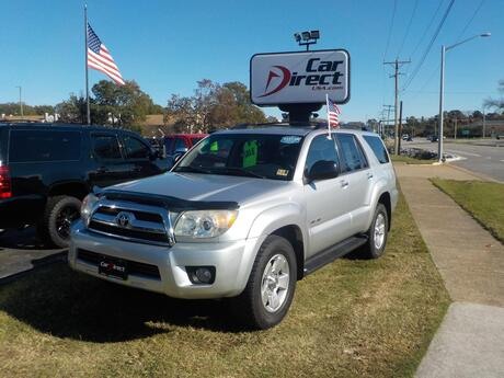 2007 TOYOTA 4RUNNER SR5, BUY BACK GUARANTEE & WARRANTY, DVD, MULTI DISC, RUNNING BOARDS, TOW PKG, LOW MILES!! Virginia Beach VA