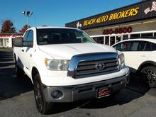 2007_TOYOTA_TUNDRA_SR5 DOUBLE CAB, BUYBACK GUARANTEE, WARRANTY, BED LINER, BLUETOOTH, AUX PORT, TOW PKG, ONLY 1 OWNER!!_ Norfolk VA