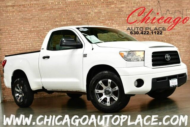 2007 Toyota Tundra SR5 - IFORCE 4.7L V8 ENGINE 1 OWNER REAR WHEEL DRIVE DUAL ZONE CLIMATE AUX INPUT Bensenville IL