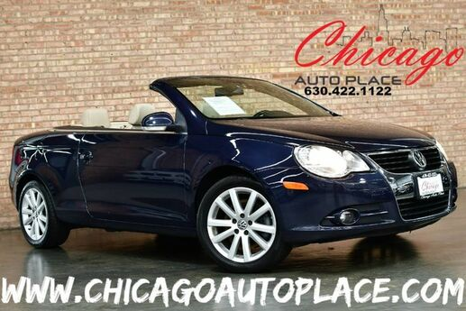 2007 Volkswagen Eos 2.0T - HARDTOP/CONVERTIBLE 2.0L FSI TURBOCHARGED I4 ENGINE FRONT WHEEL DRIVE BEIGE LEATHER HEATED SEATS DUAL ZONE CLIMATE CONTROL Bensenville IL