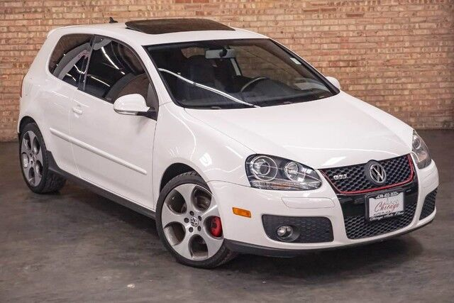 2007 Volkswagen GTI 2.0L I4 TURBOCHARGED ENGINE FRONT WHEEL DRIVE BLACK LEATHER HEAT Bensenville IL