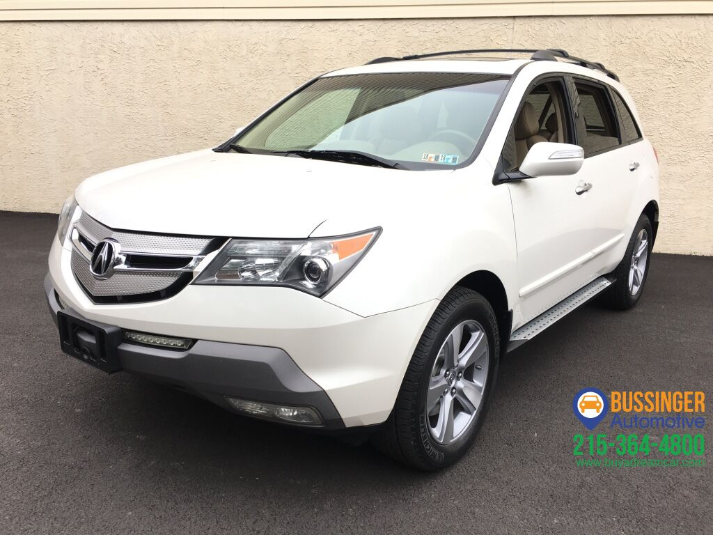 2008 Acura Mdx All Wheel Drive W Technology Package
