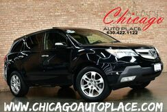 2008_Acura_MDX_Tech/Entertainment Pkg - 1 OWNER AWD NAVIGATION BACKUP CAMERA REAR TV/DVD SUNROOF POWER LIFTGATE BLACK LEATHER HEATED SEATS_ Bensenville IL