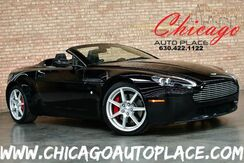 2008_Aston Martin_Vantage_Convertible Sportshift - 4.3L V8 ENGINE PADDLE SHIFTERS BLACK LEATHER W/ YELLOW STITCHING RED BRAKE CALIPERS NAVIGATION XENONS_ Bensenville IL