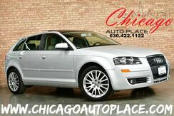 2008_Audi_A3_2.0T - TURBOCHARGED I4 ENGINE FRONT WHEEL DRIVE GRAY LEATHER INTERIOR HEATED SEATS PANO ROOF PREMIUM WHEELS_ Bensenville IL