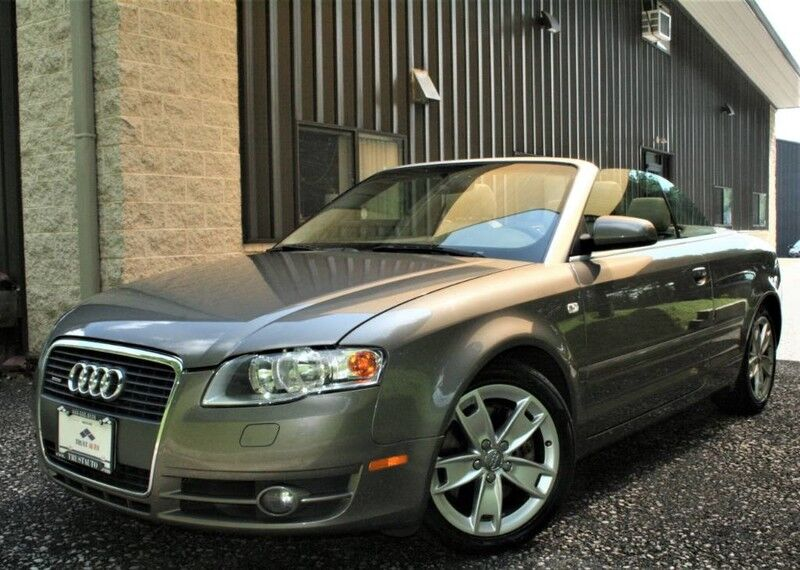 2008 Audi A4 20t Quattro Cabriolet 2 Door Coupe Sykesville Md 20574338