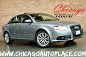 2008 Audi A4 2.0T S-LINE - 2.0L TFSI I4 TURBOCHARGED ENGINE QUATTRO ALL WHEEL DRIVE BLACK LEATHER HEATED SEATS SUNROOF XENONS PREMIUM ALLOY WHEELS