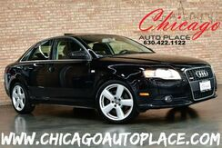 2008_Audi_A4_3.2L - 3.2L V6 ENGINE QUATTRO ALL WHEEL DRIVE BLACK LEATHER HEATED SEATS SUNROOF WOOD GRAIN INTERIOR TRIM_ Bensenville IL