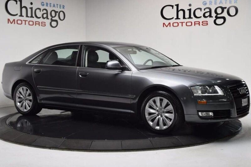 2008_Audi_A8L~ Long Wheel Base~Bang Sound_Full Leather ~Local Trade IN_ Chicago IL