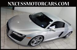 2008_Audi_R8_V8 COUPE BANG & OLUFSEN AUDIO NAVIGATION LOW MILES._ Houston TX