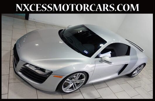 2008 Audi R8 V8 COUPE BANG & OLUFSEN AUDIO NAVIGATION LOW MILES. Houston TX