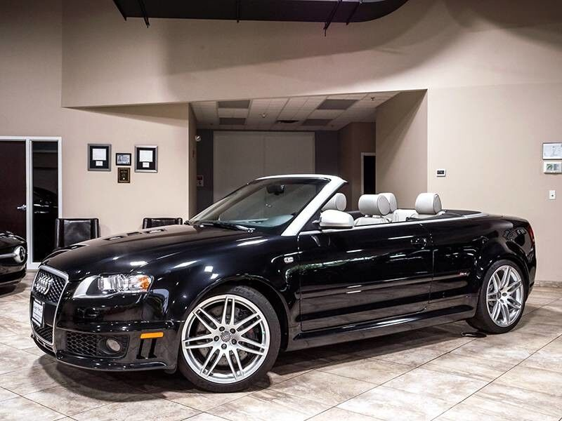 2008_Audi_RS 4_Convertible_ Chicago IL