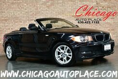 2008_BMW_1 Series_128i Convertible - 3.0L I6 ENGINE BLACK LEATHER HEATED SEATS WOOD GRAIN INTERIOR TRIM BLUETOOTH PREMIUM ALLOY WHEELS_ Bensenville IL