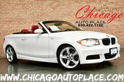 2008_BMW_1 Series_135i M-SPORT CONVERTIBLE - 3.0L DI I6 TWIN-TURBOCHARGED ENGINE CORAL RED LEATHER HEATED SEATS KEYLESS GO DUAL ZONE CLIMATE XENONS_ Bensenville IL