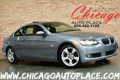 2008_BMW_3 Series_328xi COUPE - 3.0L I6 ENGINE ALL WHEEL DRIVE BLACK LEATHER SPORT PACKAGE COLD WEATHER PACKAGE WOOD GRAIN INTERIOR TRIM SUNROOF XENONS_ Bensenville IL