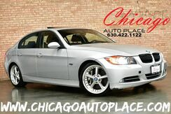 2008_BMW_3 Series_335i Sedan - 3.0L DI TWIN-TURBOCHARGED ENGINE REAR WHEEL DRIVE BLACK LEATHER SPORT PACKAGE NAVIGATION HEATED SEATS SUNROOF XENONS_ Bensenville IL